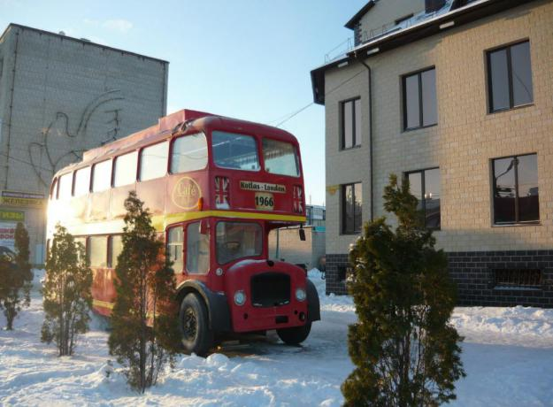 Ираида Аноховская - Кафе-автобус